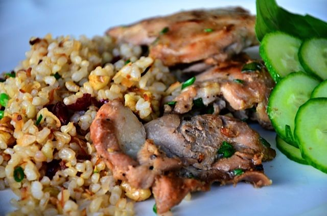Soy and Coconut Milk Chicken Thighs (ReluctantEntertainer.com) | Reci ...
