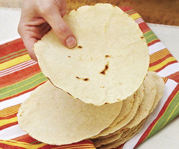 Fresh Corn Tortillas recipe Use to make taco shells and taco shell ...