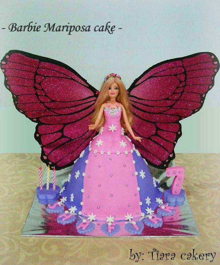 Tiara Cakery MARIPOSA BARBIE Cake