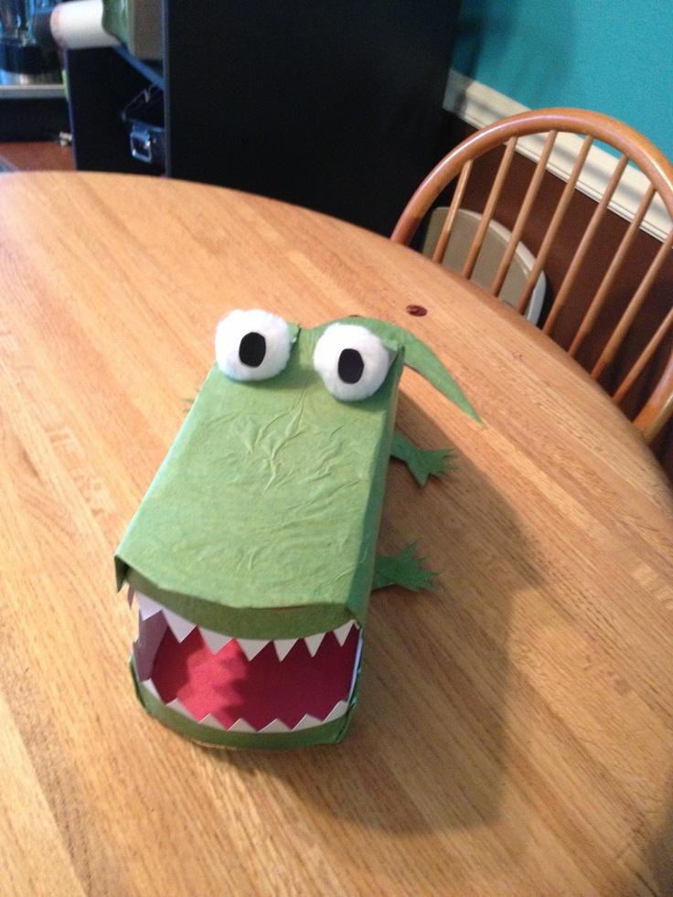 alligator valentine box ideas