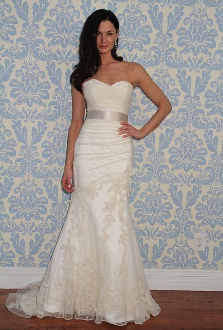 Modern trousseau wedding dresses spring 2013