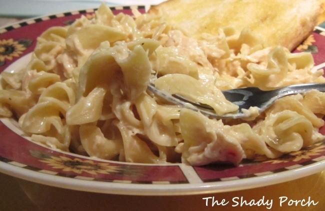 The Shady Porch: Slow Cooker Chicken Stroganoff