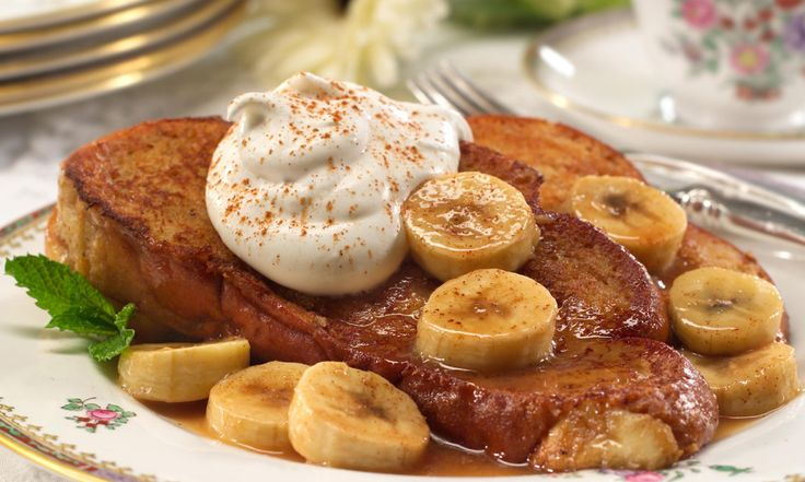 Brioche French Toast with Bananas Foster | Recipe