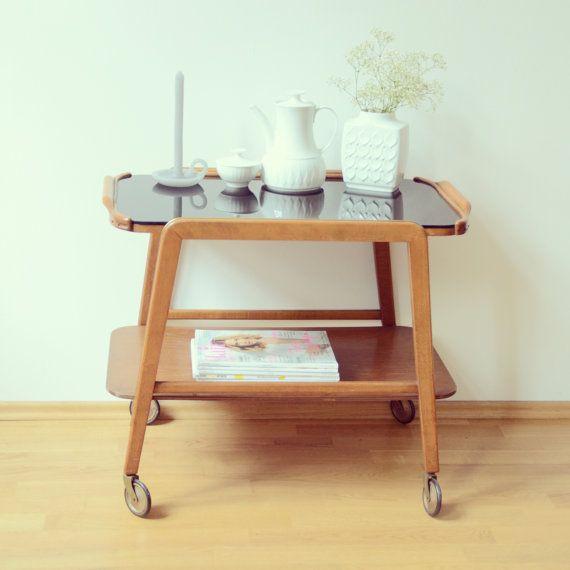vintage servierwagen rockabilly. Black Bedroom Furniture Sets. Home Design Ideas