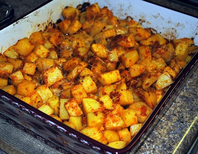 Parmesan Roasted Potatoes | Vegetables | Pinterest
