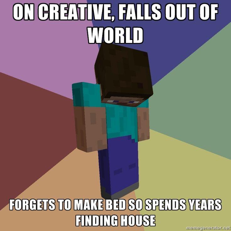 Funny Memes Minecraft : Minecraft meme for the little man pinterest