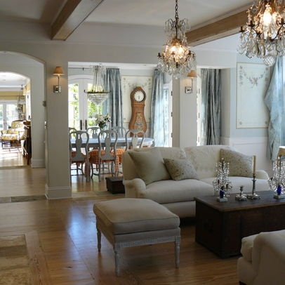 Swedish Country Style Inspiration With French Country Style Living Room Photo