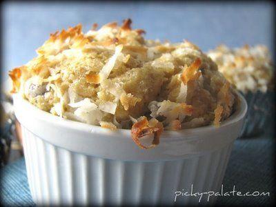"Healthier"" Banana Peanut Butter Chocolate Chip Muffins"