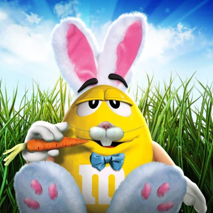 Easter bunny m m m s pinterest for S and m pictures