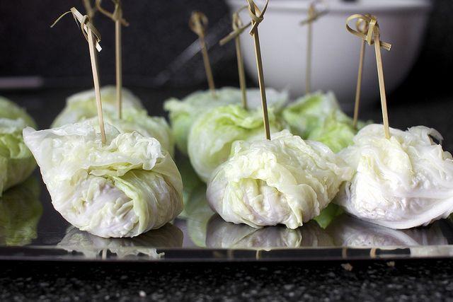 Italian stuffed cabbage; Smitten Kitchen   I'd eat it.   Pinterest
