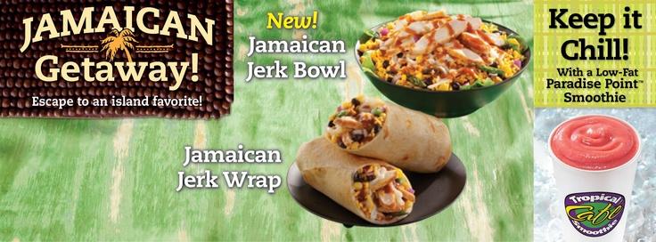 Café to try our newest menu item: Jamaican Jerk Chicken Bowl Chicken ...