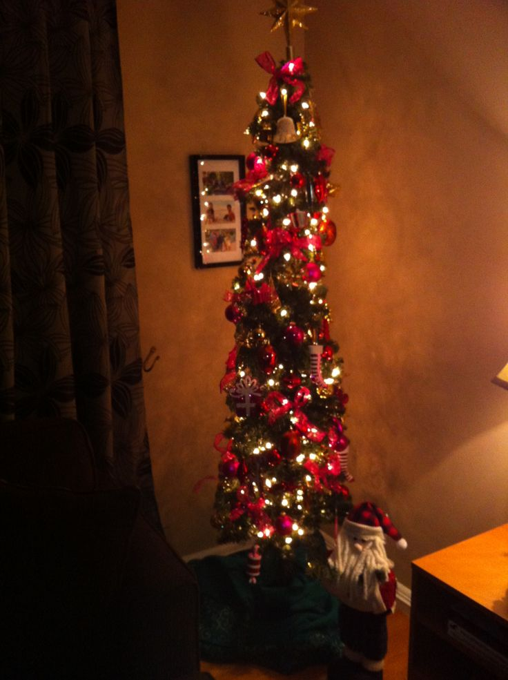7 Ft Pencil Christmas Tree Christmas Decor Pinterest