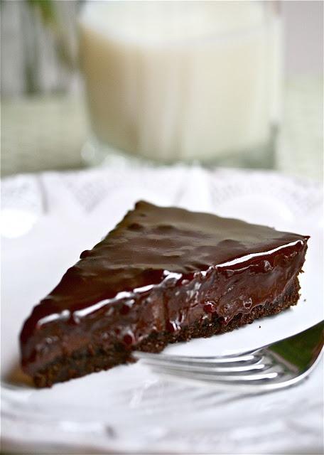 Chocolate Raspberry Tart | Chocolate for ever | Pinterest