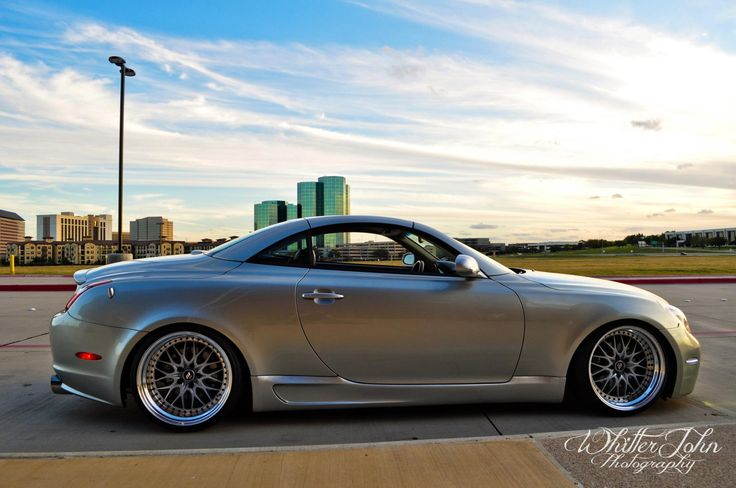 Sc430 W Side Skirts Wheels And A Drop The Next Car