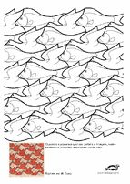 Escher coloring pages krokotak coloring pages pinterest for Escher coloring pages