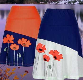 Eco-Fashion from Element Eco-Wear. Hand-dyed with low impact dyes, fair-trade, organic cotton