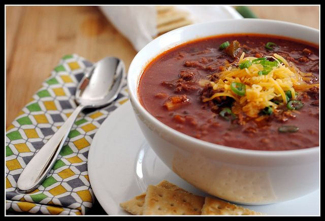 Halftime Chili | Savory Foods | Pinterest