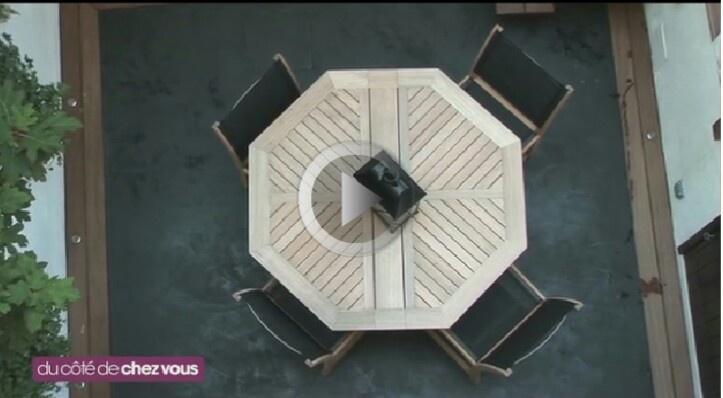 Terrasse béton bordure bois  outdoor  Pinterest