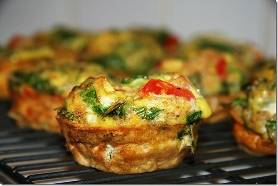 Scrambled Egg Muffins | Breakfast | Pinterest