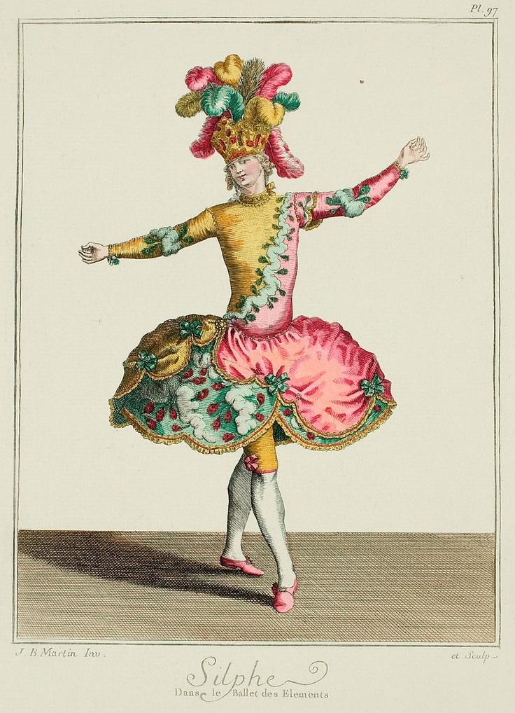 Униформа они увидели бы на спектаклях в театре оперы и в 1770-х.  Балетный костюм.