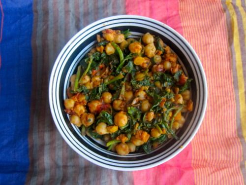 Espinacas con Garbanzos | recipes to try | Pinterest