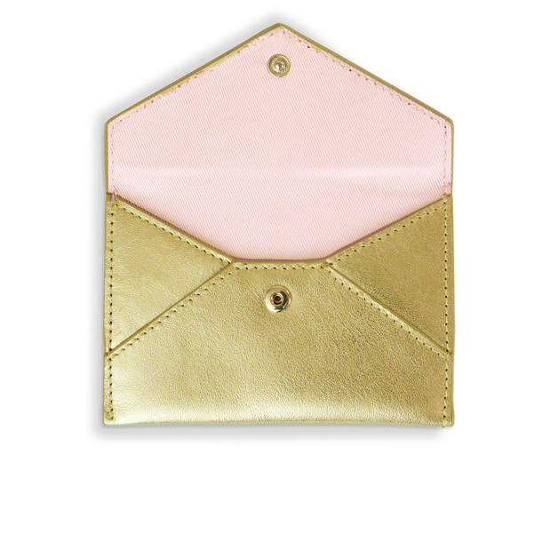 Business Card Holder Gold