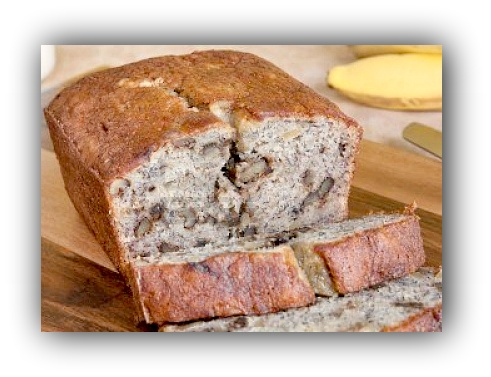 ... -loaf-of-walnut-banana-bread-with-bananas-and-milk-in-the-background