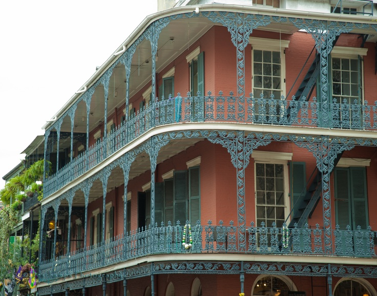 New Orleans French Quarter Architecture Pinterest