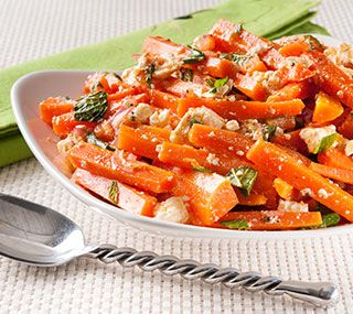 Carrot Salad With Harissa, Feta And Mint Recipes — Dishmaps
