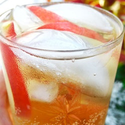 Sparkling White Peach Sangria — Punchfork