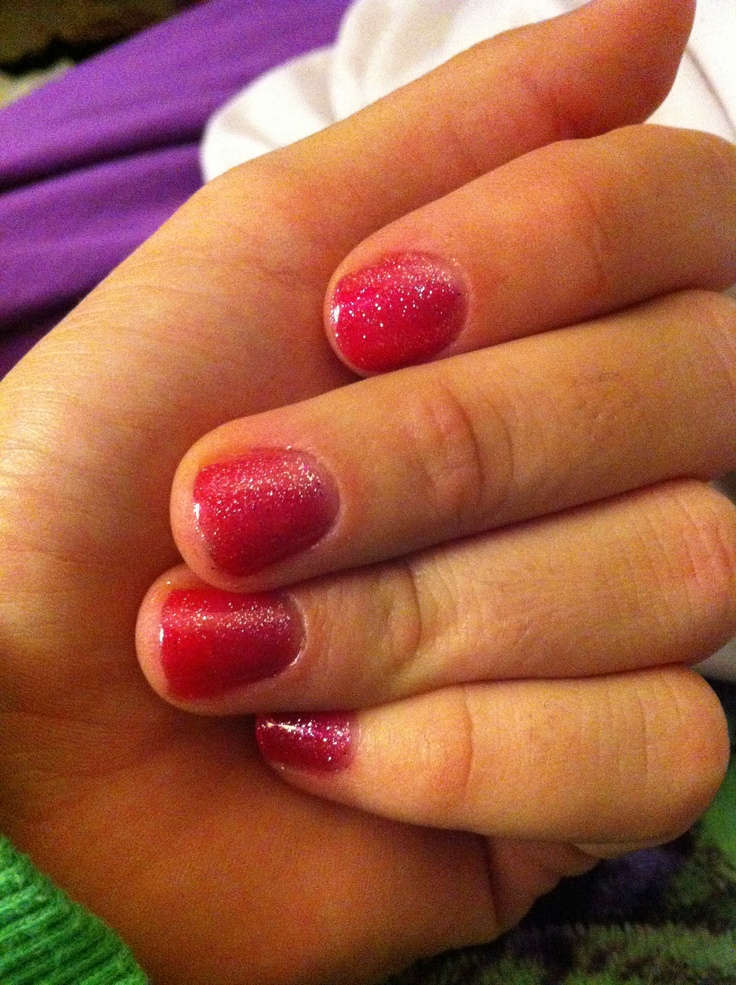 Shellac nails don