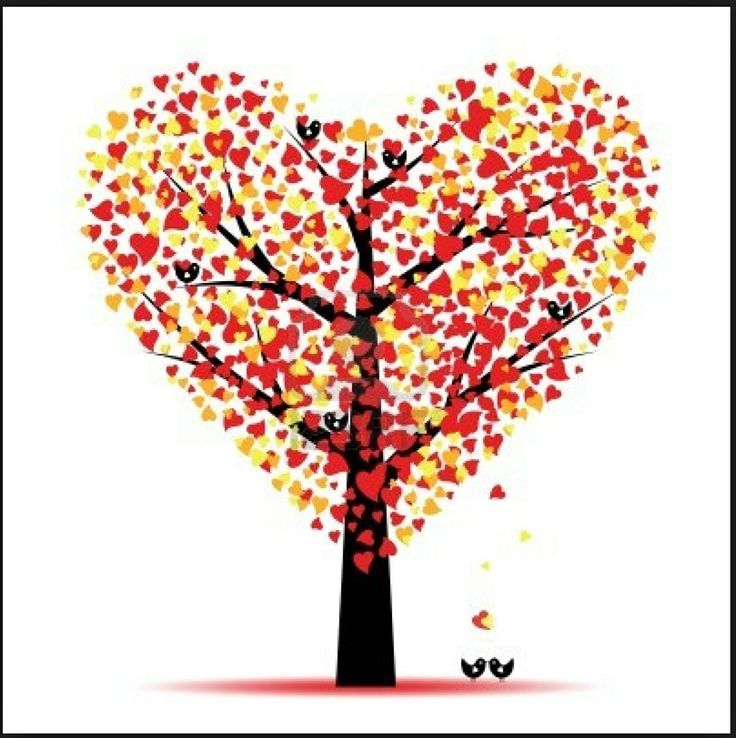 valentine photo tree