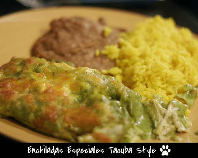 Enchiladas Especiales Tacuba Style from Rick Bayless