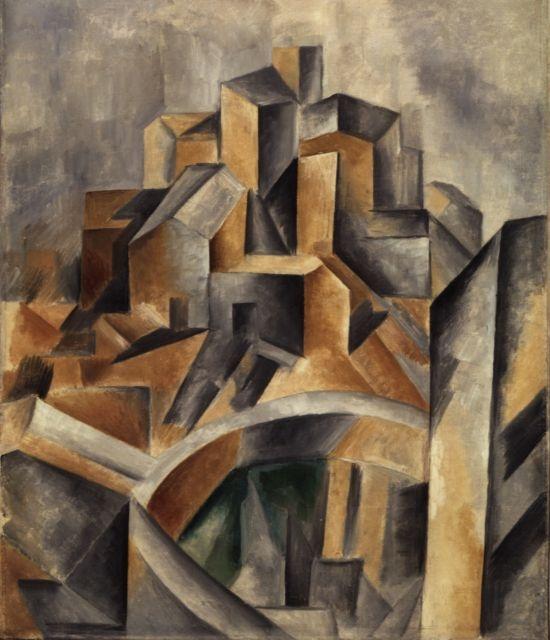 La balsa de Horta (1909) Pablo Picasso