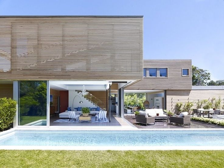 Hamptons New York Residence Architecture Pinterest