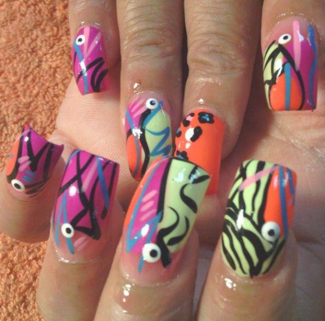 Acrylic nails pinterest