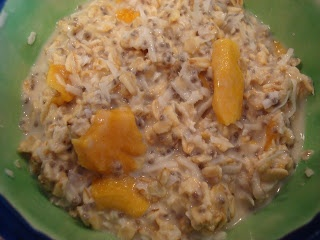 Chia Seed-Coconut-Mango Overnight Oats | Clean Program Food | Pintere ...
