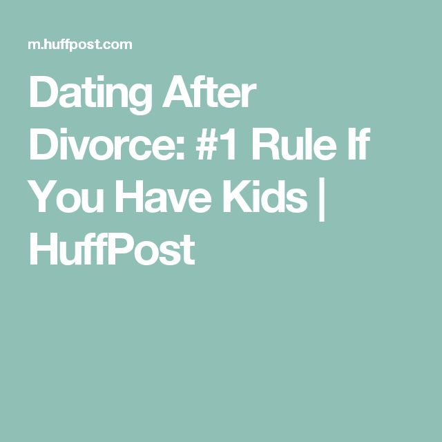 How soon to date after divorce