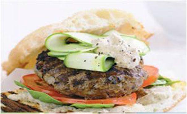 Greek Lamb Burgers | Thomas Dux | Food | Pinterest