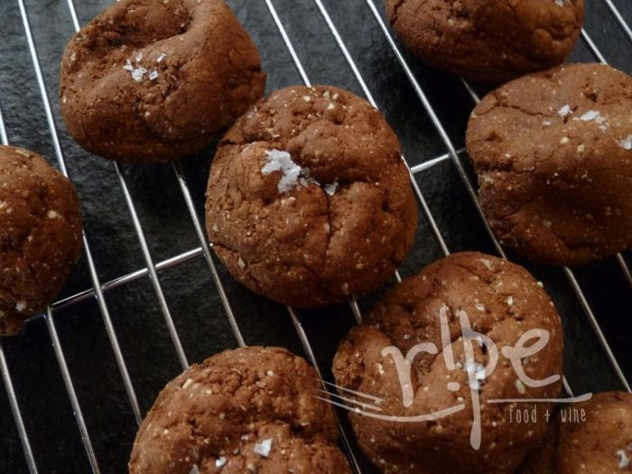 Salted Chocolate Buckwheat Cookies | RIPE