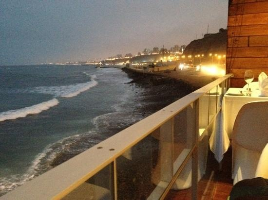 Cala Restaurant, on the water in Miraflores - four types of ceviche, each better the last.