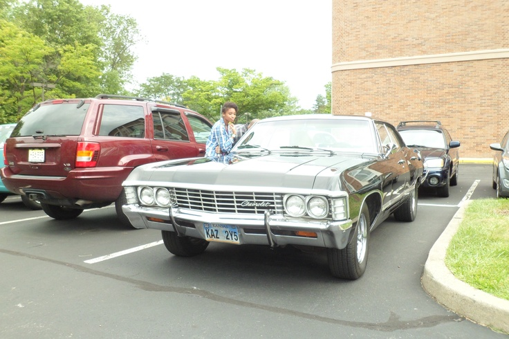 The 67 Impala From Supernatural Supernatural Show