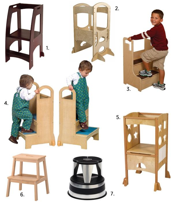 kids can cook too kitchen helper stools