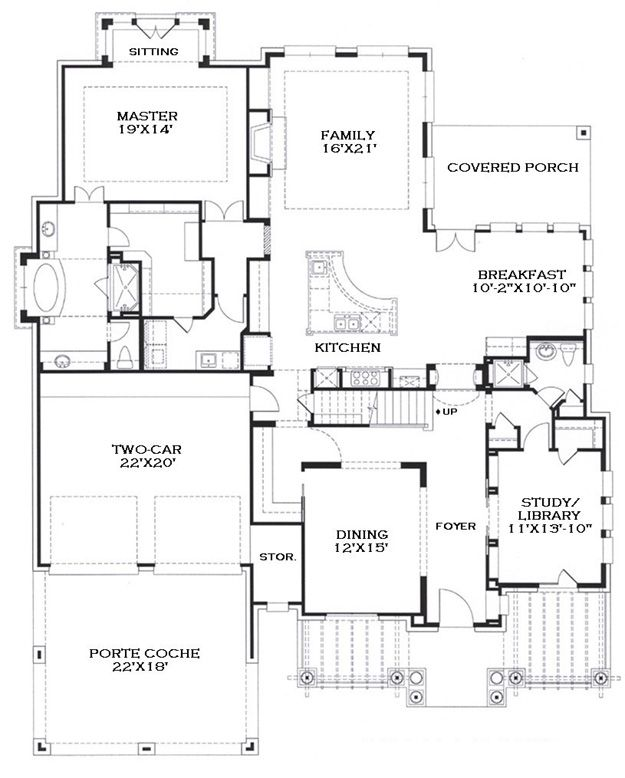 house plans with no garage | house plans