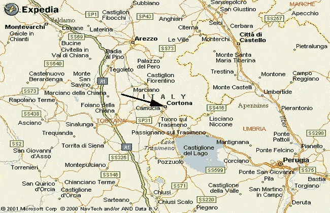 Sarteano Italy  city images : Map of central Tuscany | Sarteano, Italy | Pinterest