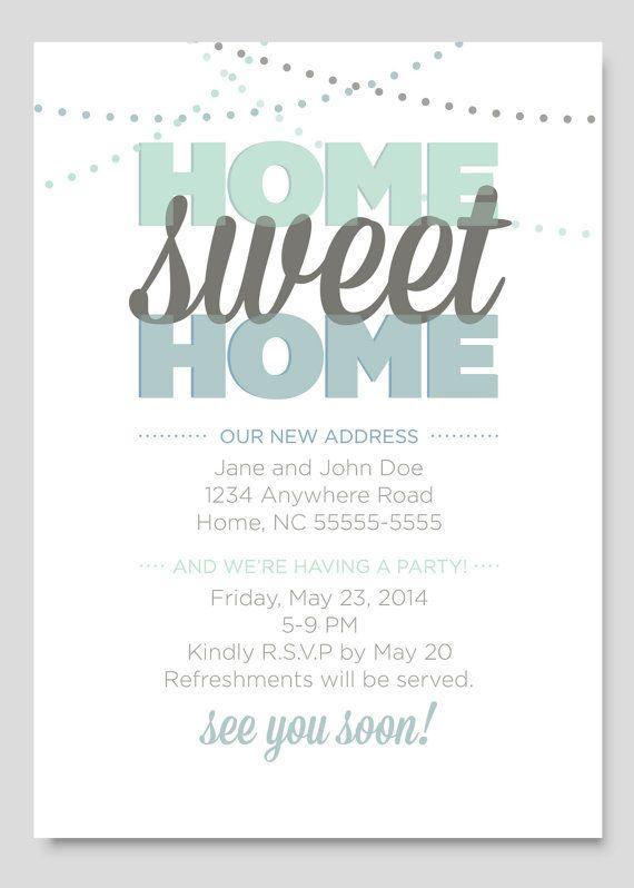 House Warming Invites is luxury invitation layout