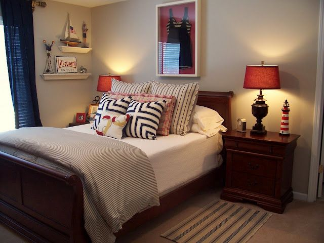 Vintage Nautical Guest Room Home Sweet Home Pinterest