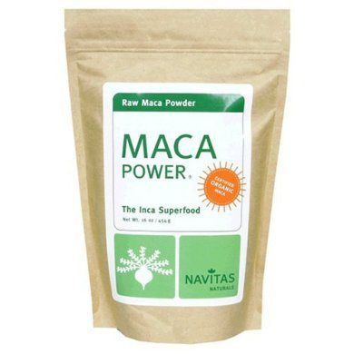 Navitas Raw Maca Root Powder one of the secret ingredients in my fertility smoothie .... keep reading to find out the other goodies I use