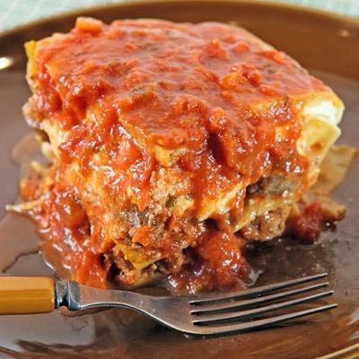 Patsy's Meatball Lasagna | Recipe