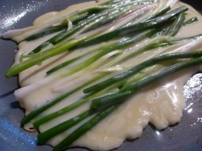 Korean Green Onion Pancakes | Culinarilyinclined.com | Pinterest